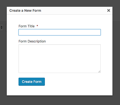 Add Form Title